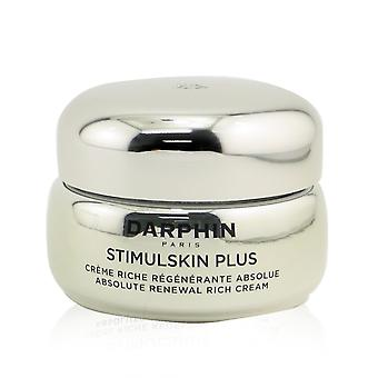 Stimulskin plus absolute vernieuwing rijke crème droge tot zeer droge huid 259156 50ml/1.7oz