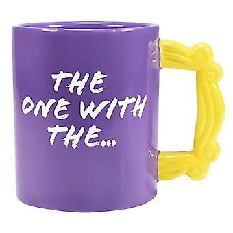 Amigos mug marco mango logo nueva novedad oficial púrpura en caja