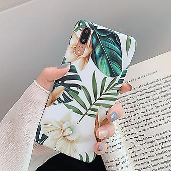Retro Flower Leaf Phone With Ring For Huawei Case Cover