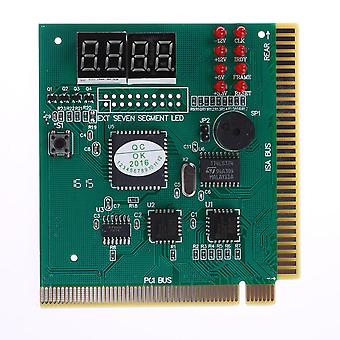 4-digit Pc Analyzer Diagnostic Post Card Motherboard Post Tester Indicator/ Led