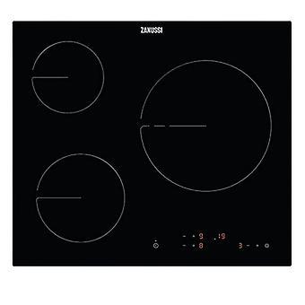 Glass-Ceramic Hob Zanussi Black (3 Cooking Areas)
