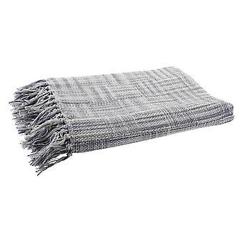 Blanket Dekodonia Fringe Cotton (130 x 170 cm)
