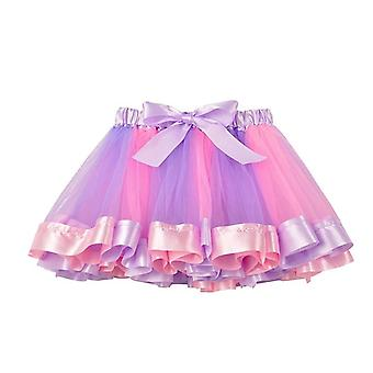 Rainbow Tulle Skirts