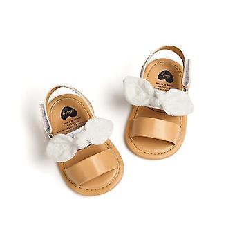 الصيف طفل لطيف الصنادل - بو الجلود الأولى مشوا لينة القاع المضادة للانزلاق الأحذية