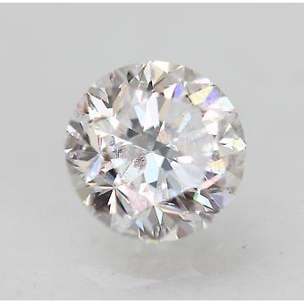 Zertifiziert 0.70 Karat D SI1 Runde Brilliant Enhanced Natural Loose Diamond 5.44mm