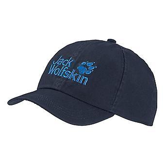 Jack Wolfskin Kids Baseball Cap - Night Blue