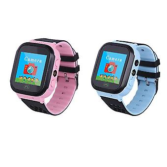 Kids Wristwatch Touch Screen Lbs Positioning Remote Monitoring Smartwatch