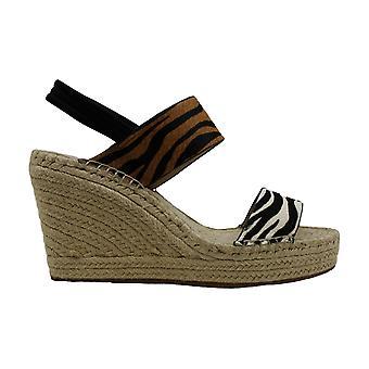 Kenneth Cole New York Womens OLIVIA SIMPLE Fabric Open Toe Formal Platform Sa...