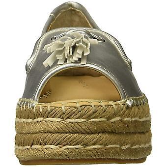 Adrienne Vittadini Womens Parke Peep Toe Casual svært høye espadrill sandaler