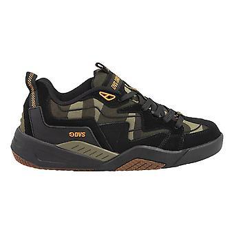 DVS Devious Shoes - Black / Camo / Orange