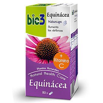 Bio3 Equinácea Naturcaps 80 Cápsulas 500 mg