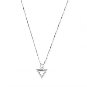 ChloBo SNDB3106 Women's Delicate Box Chain Water Necklace