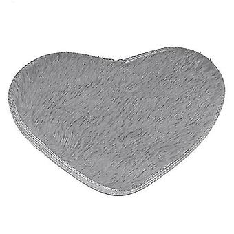 Love Heart Shape Non-slip Bath Mat For Kitchen/living Room/bathroom