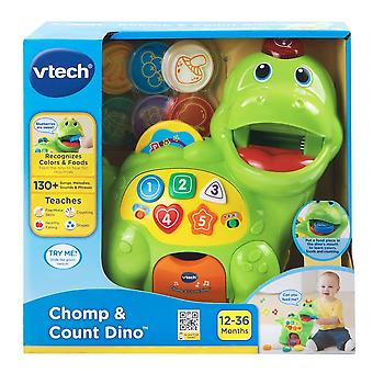 VTech Baby Feed Me Dino Educational Interactive Learning Toy Multi Colored