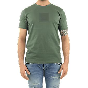 C.P.Company T-Shirts - Short Sleeve Green 10CMTS065005100W668 Top