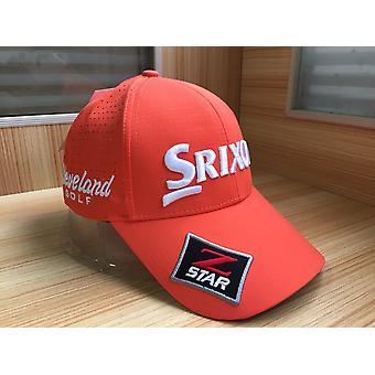 Golf Cap, Back Velcro, Strap Closure