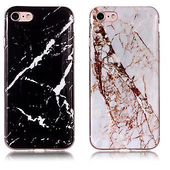 Iphone 7/8/se (2020) - Skal / Skydd / Marmor