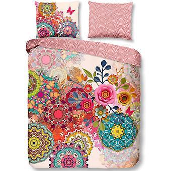 duvet cover Yelena 200 x 220 cm satin pink