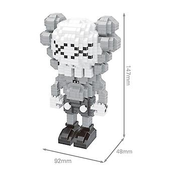 Small Particles Lego Building Blocks DIY(White)