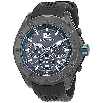 Nautica Mens analog quartz watch with Silicone Strap NAD25000G