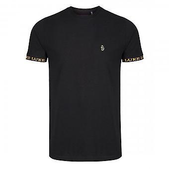 Luke 1977 Luke Keane Pique T-Shirt Black