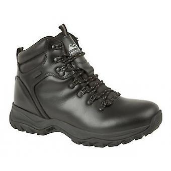 Johnscliffe Pen-y-gand Mens Leather Hiking Boots Noir