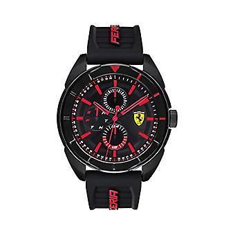 Scuderia Ferrari Multi-dial Watch Quartz Man with Silicone Strap 830547