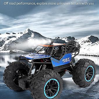 מכונית RC מעודכן גרסה 2.4G רדיו בקרת מכונית משאיות בנים צעצועים לילדים| משאיות RC (כחול)