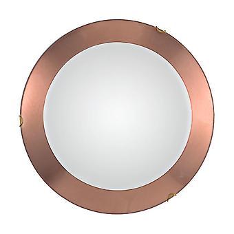 Kolarz MOON - Lifestyle Simple Flush Ceiling Light - Leaf Copper Finish, 1x E27