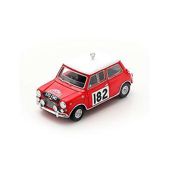 Morris Cooper S Timo Makinen - Patrick Vanson (4th Monte Carlo Rally 1964) Diecast Model