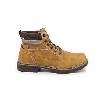 Duca di Morrone - Shoes - Ankle Boots - 1216-CAMEL - Men - goldenrod - EU 43