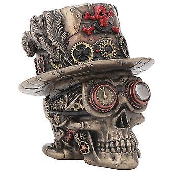 Clockwork Baron Skull Ornament