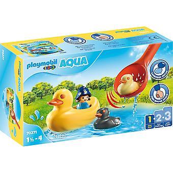 Playmobil Aqua Duck Family Playset
