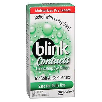 Blink Blink Contacts Lubricating Eye Drops, 10 ml