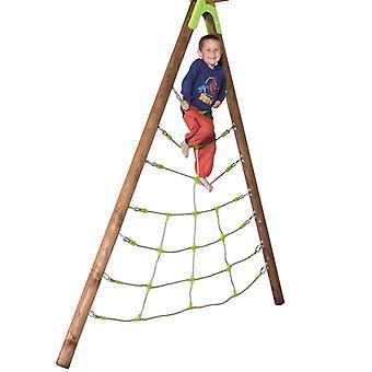 TRIGANO Kletternetz Spider für Schaukelspielplätze Set 2,3 m J-900550