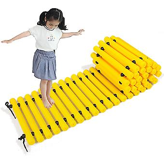 שביל איזון נתיב איזון נתיב מישוש שביל גן ילדים (צהוב)