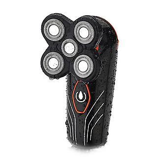 Usb 5-hodeblad flytende elektrisk barbermaskin