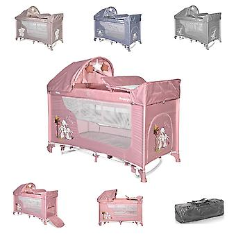 Lorelli Travel Bed Moonlight Deux niveaux Swing Fonction Mattress Wrap Reste
