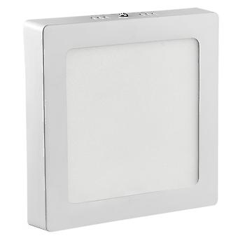 24w Led Kitchen Ceiling Light Square Panel Lamp Fixture For Laundry Stairwell Kitchen Bedroom - Blanc chaud