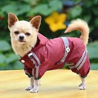 Wodoodporne ubrania dla psów pet płaszcze przeciwdeszczowe Puppy Płaszcz przeciwdeszczowy