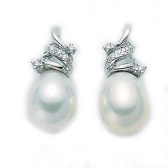 Boucles d'oreilles en perle Miluna par 1725