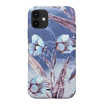 Eco friendly printed floral blue iphone 12 case