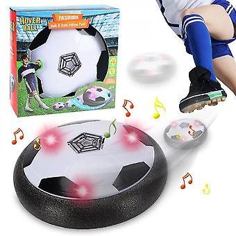 Usb ricaricabile hover calcio set led luci indoor floating air soccer (con musica)