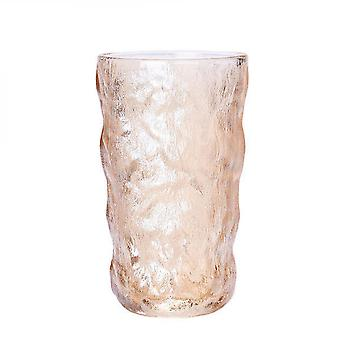 Glacier Pattern Whiskey Glass Cup, Hand-made Glasses Bottle Mugs(tall)