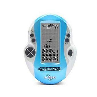 Suurinäyttöinen Tetris-pelikonsoli, lähtötason videopelilapsen minikäsipeli