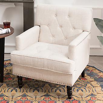 Gepolsterter Stoff Sofa Nagelkopf Sessel