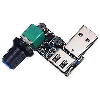 Dc 5v Usb Lüfter Drehzahlregler mit Schalter