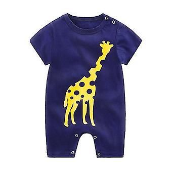 Baby Katoen Romper korte mouwen een stuk zomer Unisex babykleding en