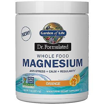 Dr. Formulated Whole Food Magnesium, Raspberry Lemon - 198 grams