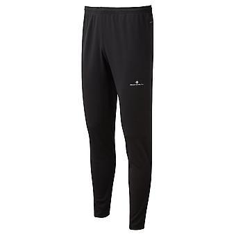 Ronhill Core Slim Pants Mens Slim Fit Running/uppvärmning Byxor Helt Svart